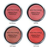 MAX FACTOR MIRACLE TOUCH CREAMY BLUSH - Lovely Pink x 6