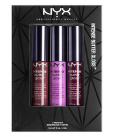 NYX INTENSE BUTTER GLOSS LIPGLOSS 3 PIECE SET x 1 - SET 04