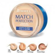 RIMMEL MATCH PERFECTION CREAM GEL FOUNDATION - TRUE NUDE x 2