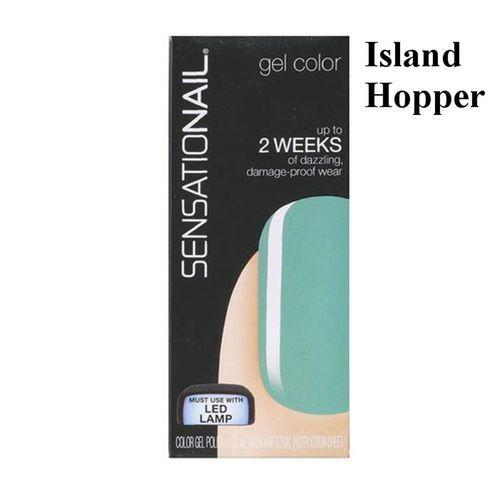 SENSATIONAIL BY NAILENE GEL COLOUR POLISH - ISLAND HOPPER x 1