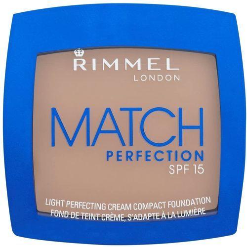 RIMMEL MATCH PERFECTION CREAM COMPACT FOUNDATION - 402 BRONZE x 5