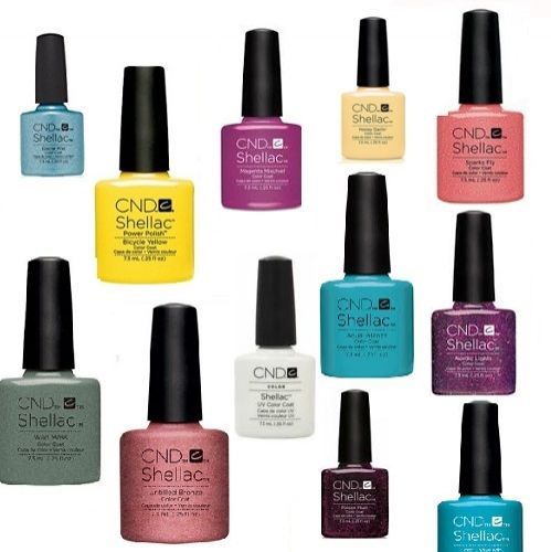 CND SHELLAC 14+ DAY NAIL COLOR COAT ASSORTED x 15