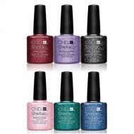 CND SHELLAC 14+ DAY NAIL COLOR COAT ASSORTED x 6
