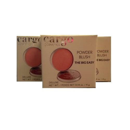 CARGO POWDER BLUSH MINI SIZE THE BIG EASY x 3
