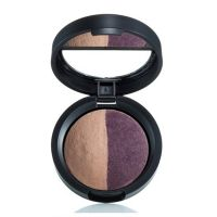 LAURA GELLER BAKED COLOR INTENSE SHADOW DUO SLATEPLUM x 1