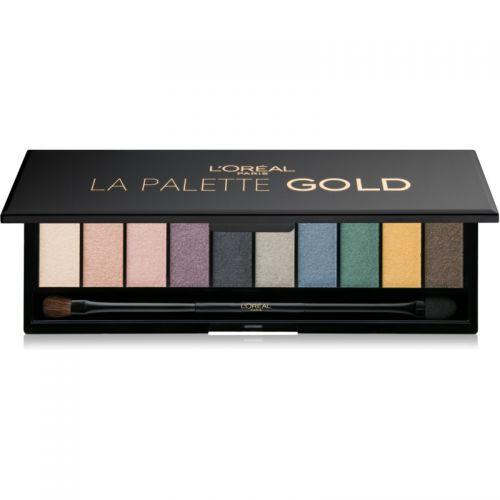 L'OREAL LA PALETTE GOLD & GLAM x 4