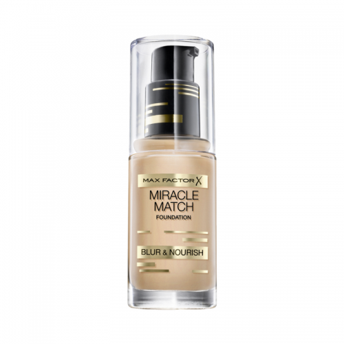 MAX FACTOR X MIRACLE MATCH FOUNDATION x 1 - SOFT HONEY