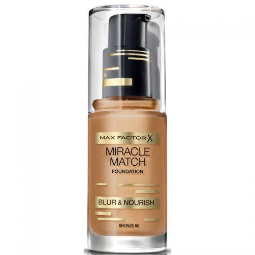 MAX FACTOR X MIRACLE MATCH FOUNDATION x 1 - BRONZE