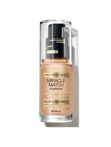MAX FACTOR X MIRACLE MATCH FOUNDATION x 1 - NATURAL