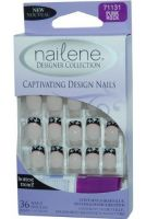 NAILENE CAPTIVATING DESIGN NAILS x 6