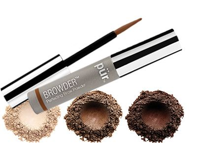 PUR BROWDER PERFECTING BROW POWDER MIX COLOR x 3