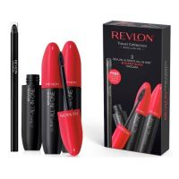 REVLON ULTIMATE ALL IN ONE TRIO MASCARA WITH FREE BLACK EYELINER PENCIL x 1