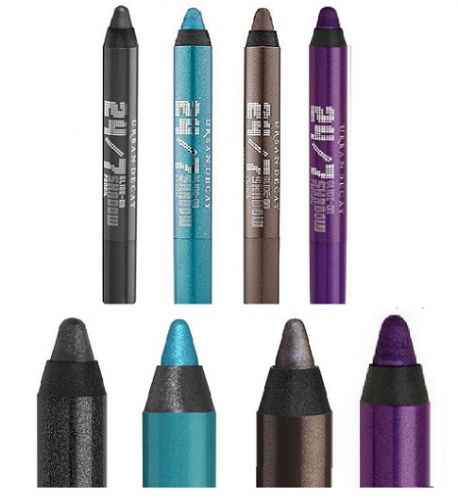 URBAN DECAY 24-7 GLIDE ON SHADOW PENCIL ASSORTED  x 4