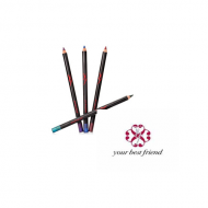 YBF ASSORTED EYELINER PENCILS - 4 SHADES x 12