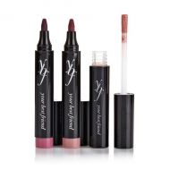 YBF POWER POUT TOUCHABLE TAUPE 2 LIP STAIN&LIP LAQUER x 1