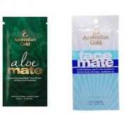 AUSTRALIAN GOLD FACE MATE & ALOE MATE FACIAL TOWLETTES x 12