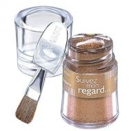 BOURJOIS SUIVEZ MON REGARD INTENSE SHIMMERS LOOSE POWDER EYESHADOW -07 AMBRE x 3
