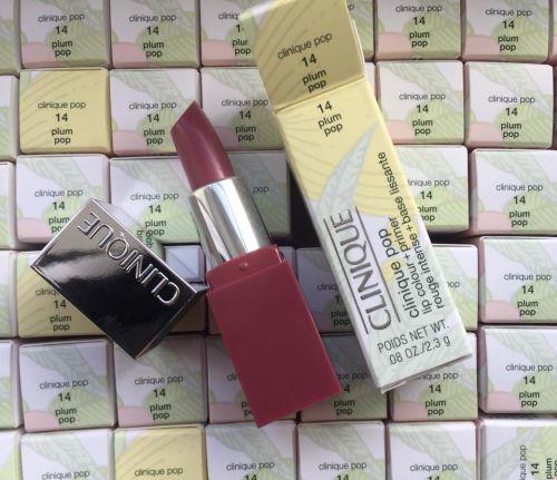 Clinique Pop Lipcolour + primer Rouge Intense + base lissante x 3