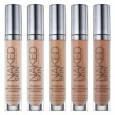 Urban Decay Naked Skin Weightless Complete Coverage Concealer x 3 - FAIR WARM