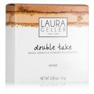 LAURA GELLER DOUBLE TAKE BAKED VERSATILE POWDER FOUNDATION x 2 - DEEP