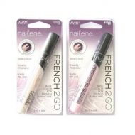 NAILENE FRENCH 2 GO BASE COLOR FOR FRENCH MANICURE x 12