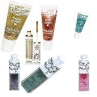 HARD CANDY 9 PIECE ASSORTED GLITTER PACK x 1