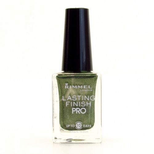 RIMMEL LASTING FINISH PRO NAIL POLISH - 286 RAGS TO RICHES x 2