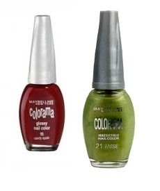 MAYBELLINE COLORAMA NAIL POLISH x 20