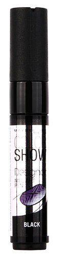 MAYBELLINE COLOUR SHOW DESIGNER NAIL ART PEN - BLACK  x 3