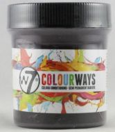 W7 COLOURWAYS SEMI PERMANENT HAIR DYE - BLACK CHERRY X 1