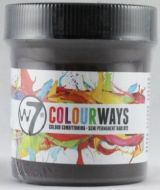 W7 COLOURWAYS SEMI PERMANENT HAIR DYE - BURNT RED X 1