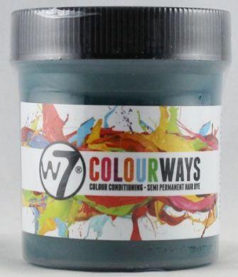 W7 COLOURWAYS SEMI PERMANENT HAIR DYE - FOREST GREEN X 1