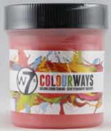 W7 COLOURWAYS SEMI PERMANENT HAIR DYE - PINK PAWS X 1