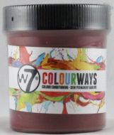 W7 COLOURWAYS SEMI PERMANENT HAIR DYE - RUSTY RED X 1
