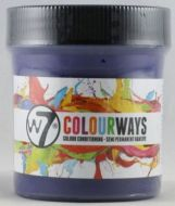 W7 COLOURWAYS SEMI PERMANENT HAIR DYE - SILVER X 1