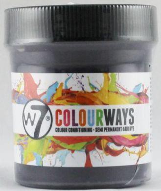 W7 COLOURWAYS SEMI PERMANENT HAIR DYE - VIOLET X 1