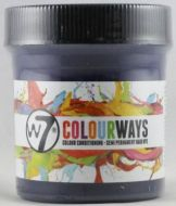 W7 COLOURWAYS SEMI PERMANENT HAIR DYE - WILD BLUE X 1
