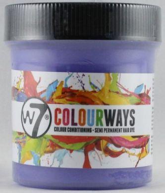 W7 COLOURWAYS SEMI PERMANENT HAIR DYE - WHITE CALMER X 1