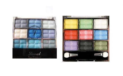 LAVAL EYESHADOWS BLUE COLLECTION x 2