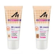 MANHATTAN CLEARFACE BB CREAM 9 IN 1 x 4