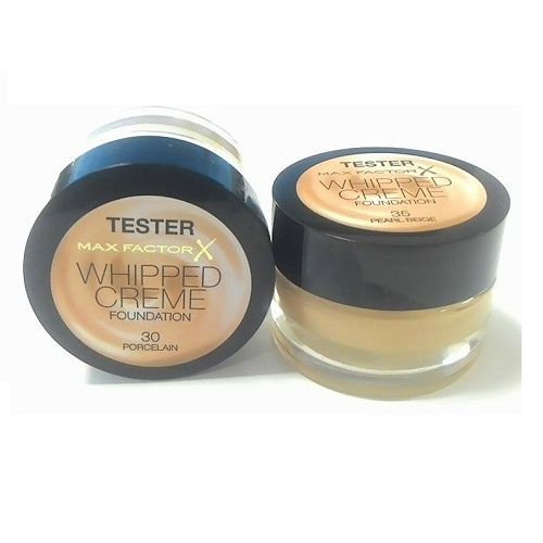 MAX FACTOR WHIPPED CREME FOUNDATION TESTER - 35 PEARL BEIGE x 6