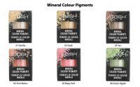 GOSH MINERAL COLOUR PIGMENTS - UNUSED TESTERS - UNBOXED x 5
