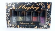 PLAYBOY GLAMOUR PUSS GLITTER NAIL POLISH COLLECTION x 2