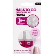 PROFILE NAILS TO GO FRENCH TIP KITS x 2