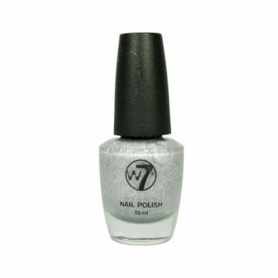 W7 LIMITED EDITION CRACKLE NAILPOLISH - SILVER x 6