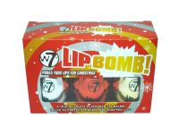 W7 CHRISTMAS LIP BOMB! TRIO x 12