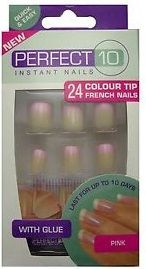 PERFECT 10 INSTANT NAILS x 6
