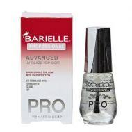 BARIELLE PRO ADVANCED UV GLAZE TOP COAT x 3