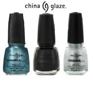 CHINA GLAZE CRACKLE NAIL POLISH x 9
