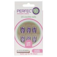 PERFECT 10 INSTANT CRACKLE NAILS x 6